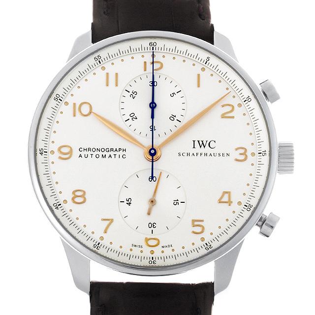 IWC ポルトギーゼ クロノグラフ IW371445 メンズ(0050IWAU0012)【中古】【腕時計】【送料無料】