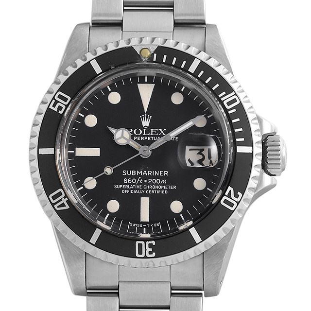 ロレックス サブマリーナ デイト 1680 ブラック 61番 メンズ(006XROAA0131)【アンティーク】【腕時計】【送料無料】