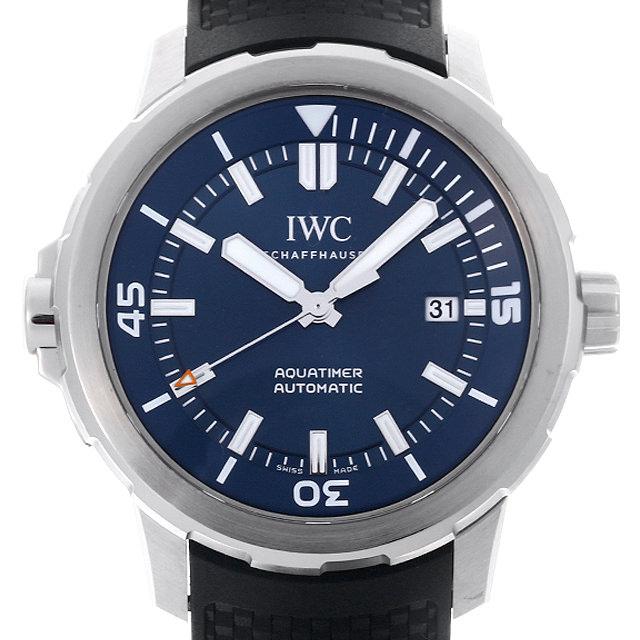 【48回払いまで無金利】IWC アクアタイマー エクスペディション ジャック=イヴ・クストー IW329005 メンズ(007UIWAU0137)【中古】【腕時計】【送料無料】