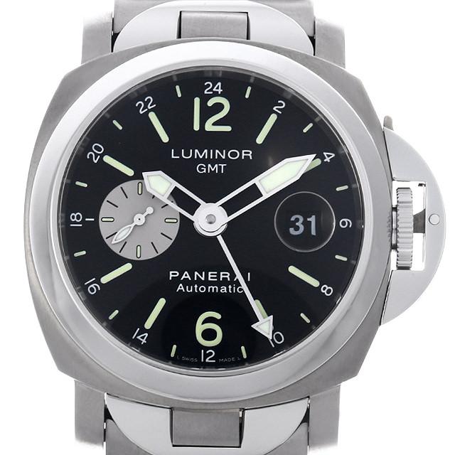 【48回払いまで無金利】パネライ ルミノールGMT PAM00161 F番 メンズ(007UOPAU0124)【中古】【腕時計】【送料無料】