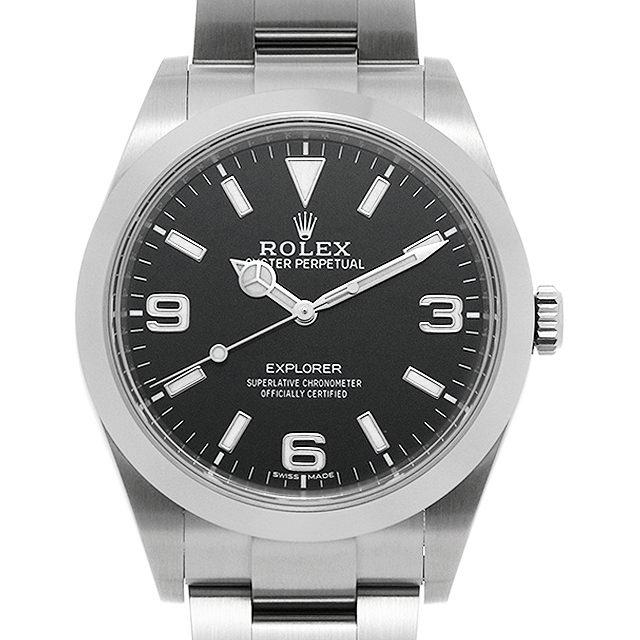 【48回払いまで無金利】ロレックス エクスプローラー 214270 最新型 メンズ(007UROAU0614)【中古】【腕時計】【送料無料】
