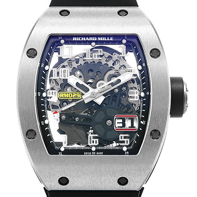 【48回払いまで無金利】SALE リシャールミル オートマチック オーバーサイズ デイト RM029 メンズ(027JRMAU0001)【中古】【腕時計】【送料無料】