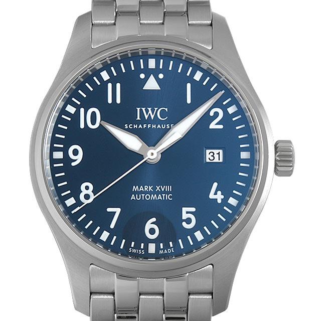 【48回払いまで無金利】IWC パイロットウォッチ マーク18 プティ プランス IW327014 メンズ(0A89IWAU0013)【中古】【腕時計】【送料無料】