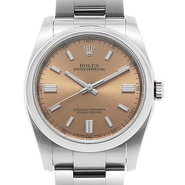 【48回払いまで無金利】ロレックス オイスターパーペチュアル 116000 ホワイトグレープ ランダムシリアル メンズ(0A89ROAU0124)【中古】【腕時計】【送料無料】
