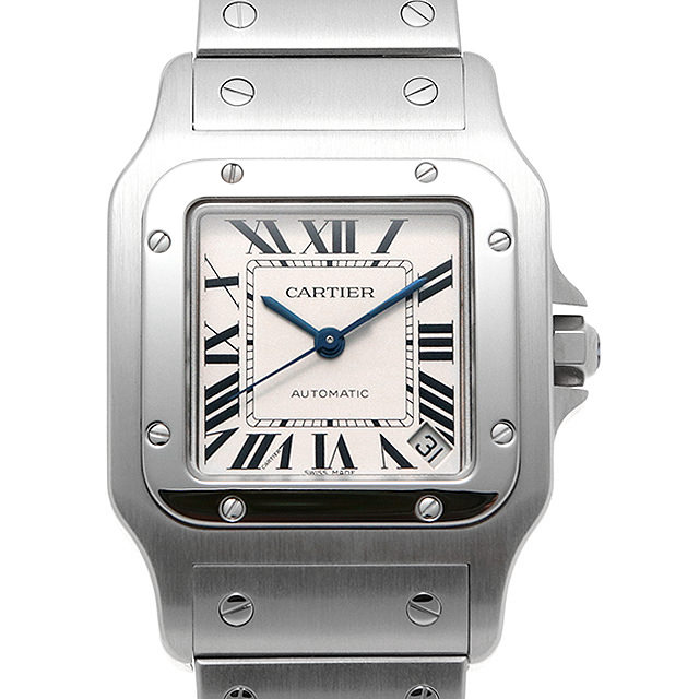 【48回払いまで無金利】カルティエ サントスガルベ XL W20098D6 メンズ(0HLYCAAU0004)【中古】【腕時計】【送料無料】