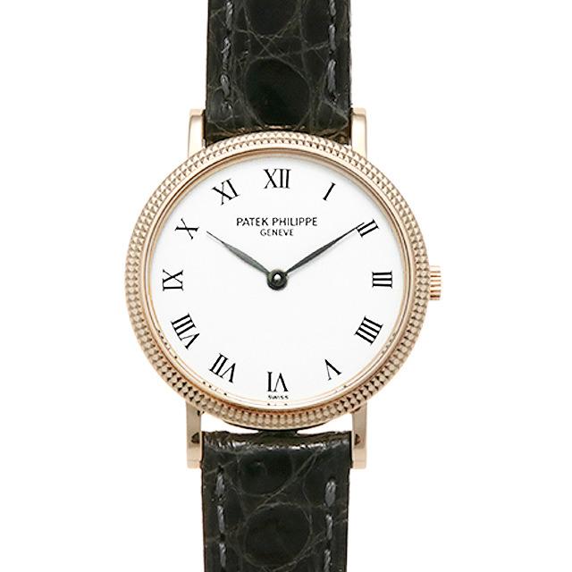 パテックフィリップ カラトラバ 4819J レディース(0MOXPPAU0002)【中古】【腕時計】【送料無料】