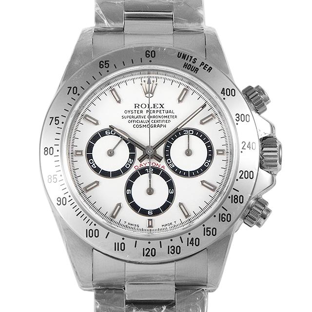 【48回払いまで無金利】ロレックス コスモグラフ デイトナ 16520 ホワイト U番 メンズ(0ABQROAS0007)【中古】【未使用】【腕時計】【送料無料】