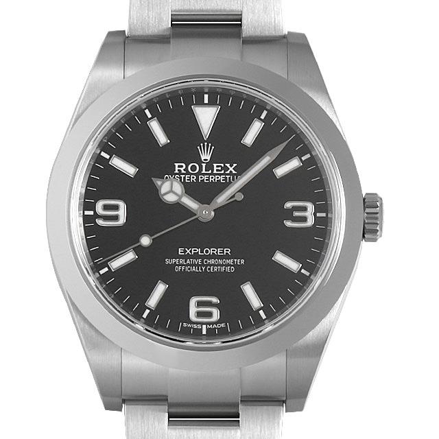 【48回払いまで無金利】ロレックス エクスプローラー 214270 最新型 メンズ(0MSTROAS0001)【中古】【未使用】【腕時計】【送料無料】