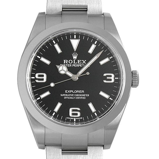 【48回払いまで無金利】ロレックス エクスプローラー 214270 最新型 メンズ(0014ROAU0171)【中古】【腕時計】【送料無料】
