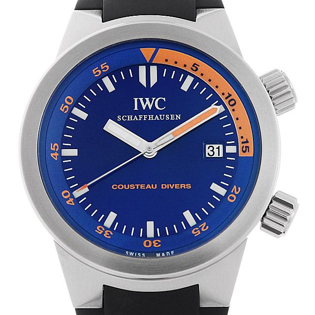 【48回払いまで無金利】IWC アクアタイマー クストーダイバーズ 世界限定1953本 IW354806 メンズ(006TIWAU0003)【中古】【腕時計】【送料無料】