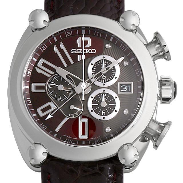 【48回払いまで無金利】セイコー ガランテ スプリングドライブ クロノグラフ SBLA027 メンズ(0087SEAU0010)【中古】【腕時計】【送料無料】