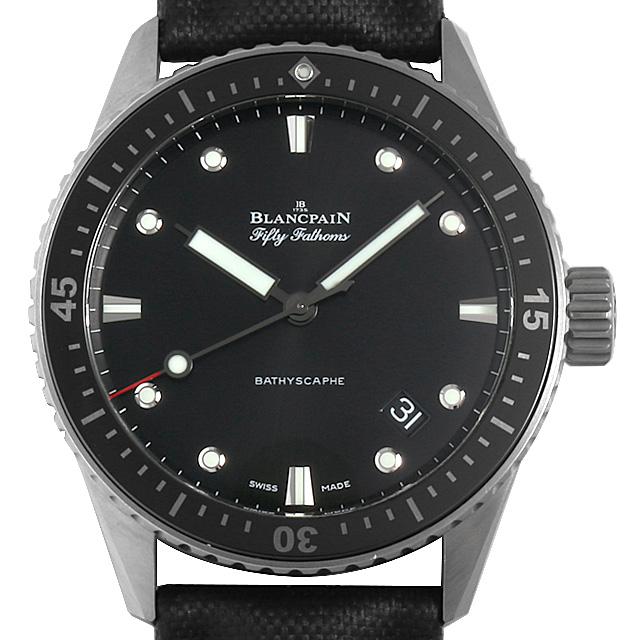 【48回払いまで無金利】ブランパン フィフティファゾムス バチスカーフ 5000-1230-B52A メンズ(008WBPAU0005)【中古】【腕時計】【送料無料】