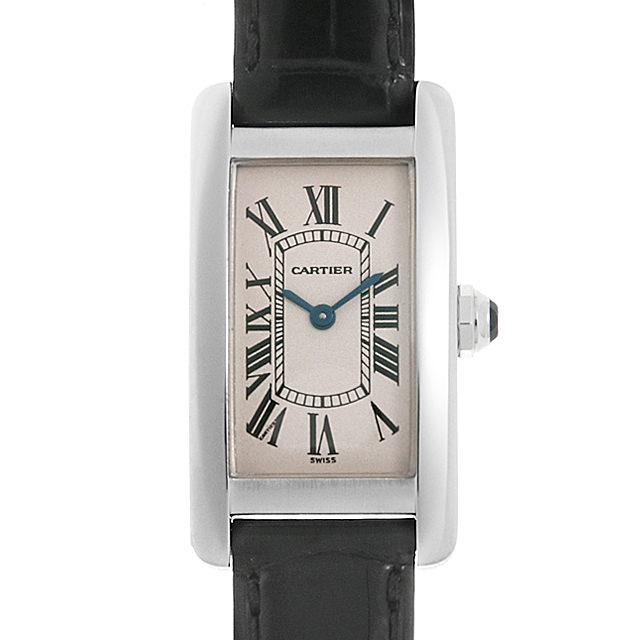 【48回払いまで無金利】カルティエ タンクアメリカン W2601956 レディース(008WCAAU0170)【中古】【腕時計】【送料無料】
