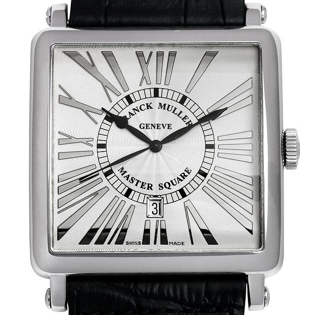 【48回払いまで無金利】フランクミュラー マスタースクエアキング レリーフ ローマン 6000KSC DT REL R AC メンズ(009MFRAU0020)【中古】【腕時計】【送料無料】