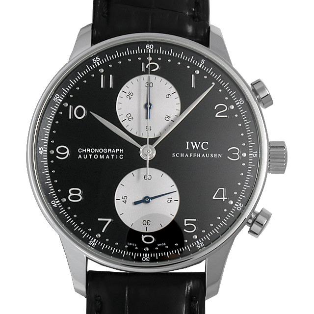 【48回払いまで無金利】IWC ポルトギーゼ クロノグラフ IW371404 メンズ(009MIWAU0042)【中古】【腕時計】【送料無料】