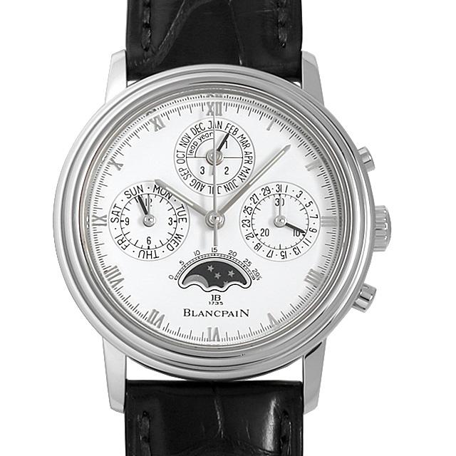 【48回払いまで無金利】ブランパン クラシック パーペチュアルカレンダー クロノグラフ B5580.1127.55.20 メンズ(02QEBPAU0001)【中古】【腕時計】【送料無料】