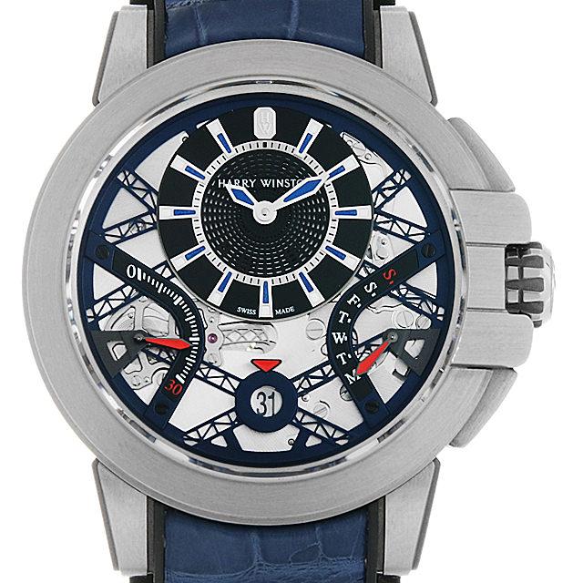 SALE 【48回払いまで無金利】ハリーウィンストン オーシャン プロジェクトZ10 OCEABI42ZZ001 メンズ(0670HWAU0001)【中古】【腕時計】【送料無料】