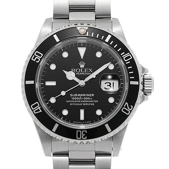 【48回払いまで無金利】ロレックス サブマリーナ デイト 16610 ブラック E番 メンズ(0MM0ROAU0001)【中古】【腕時計】【送料無料】