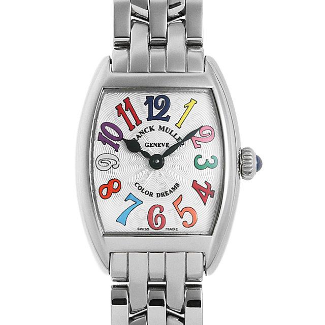 【48回払いまで無金利】フランクミュラー トノーカーベックス カラードリーム 2252QZ COL DRM OAC レディース(095KFRAN0001)【新品】【腕時計】【送料無料】