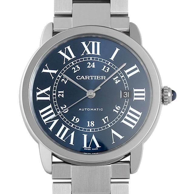【48回払いまで無金利】カルティエ ロンドソロ ドゥ カルティエ WSRN0023 メンズ(007UCAAU0168)【中古】【腕時計】【送料無料】