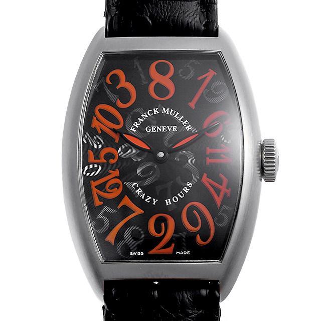 【48回払いまで無金利】フランクミュラー クレイジーアワーズ スペシャルジューン 限定200本 5850CH J AC メンズ(007UFRAU0161)【中古】【腕時計】【送料無料】