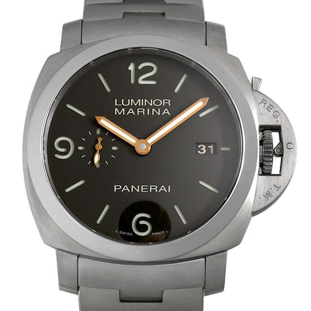 【48回払いまで無金利】パネライ ルミノールマリーナ 1950 3DAYS PAM00352 P番 メンズ(007UOPAU0128)【中古】【腕時計】【送料無料】