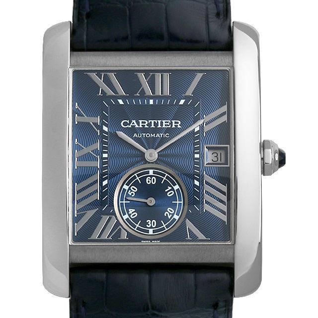 【48回払いまで無金利】カルティエ タンクMC WSTA0010 メンズ(009MCAAU0029)【中古】【腕時計】【送料無料】
