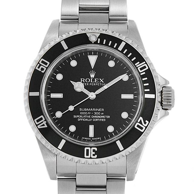 【48回払いまで無金利】ロレックス サブマリーナ ノンデイト 14060M G番 メンズ(009VROAU0282)【中古】【腕時計】【送料無料】