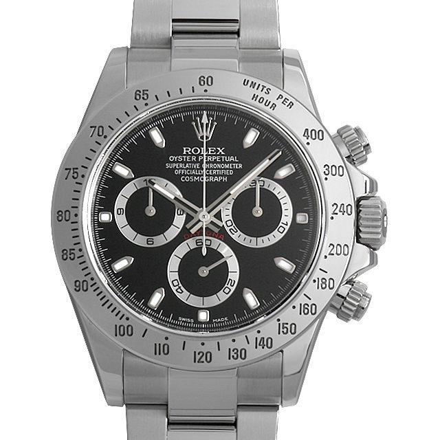 【48回払いまで無金利】ロレックス コスモグラフ デイトナ 116520 ブラック G番 メンズ(06N2ROAU0002)【中古】【腕時計】【送料無料】