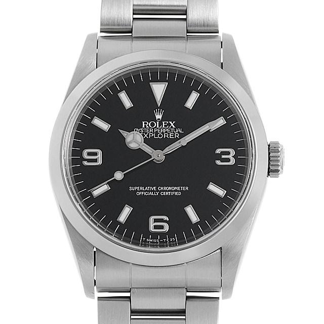 ロレックス エクスプローラーI 14270 W番 メンズ(0CIOROAU0001)【中古】【腕時計】【送料無料】
