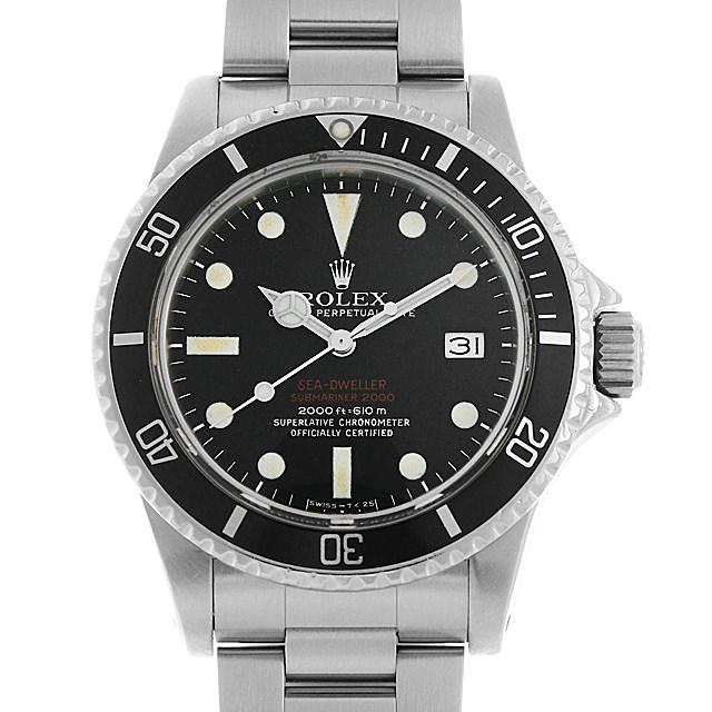 【48回払いまで無金利】ロレックス シードゥエラー 1665 赤シード マークIII 34番 メンズ(0LHOROAA0001)【アンティーク】【腕時計】【送料無料】