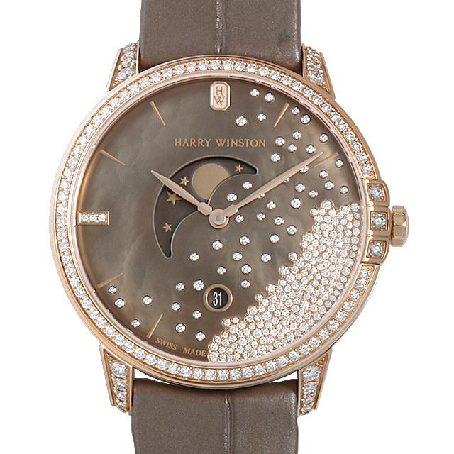 【48回払いまで無金利】ハリーウィンストン ミッドナイト ダイヤモンド ドロップ MIDQMP39RR004 レディース(0NPRHWAU0001)【中古】【腕時計】【送料無料】