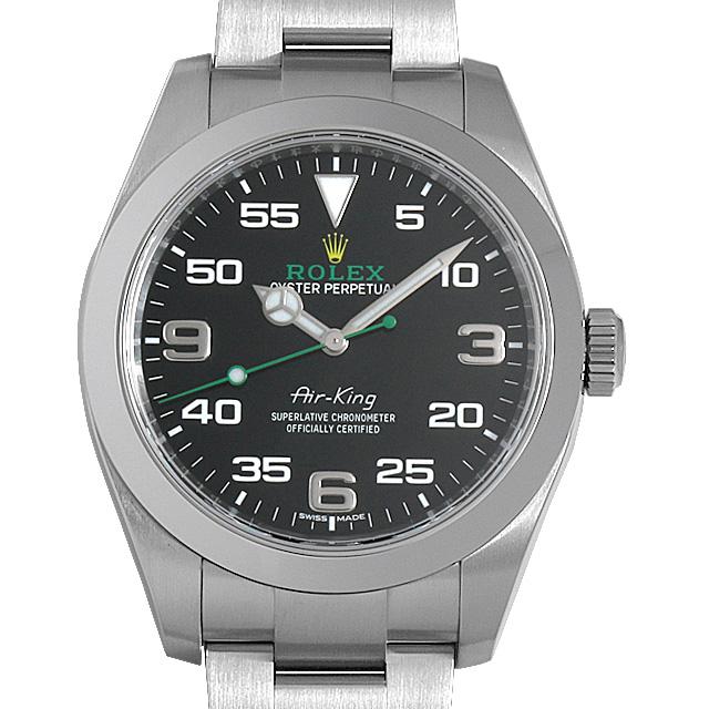 【48回払いまで無金利】ロレックス エアキング 116900 メンズ(0NVKROAU0001)【中古】【腕時計】【送料無料】