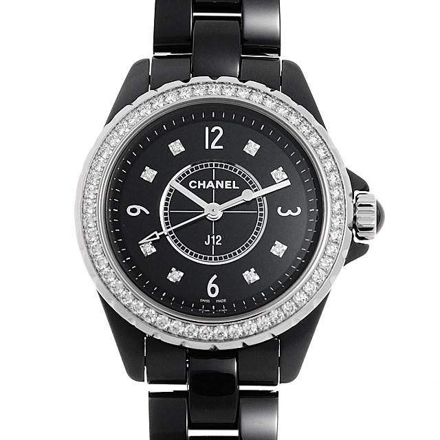 【48回払いまで無金利】シャネル J12 H3108 レディース(0NZPCHAU0001)【中古】【腕時計】【送料無料】