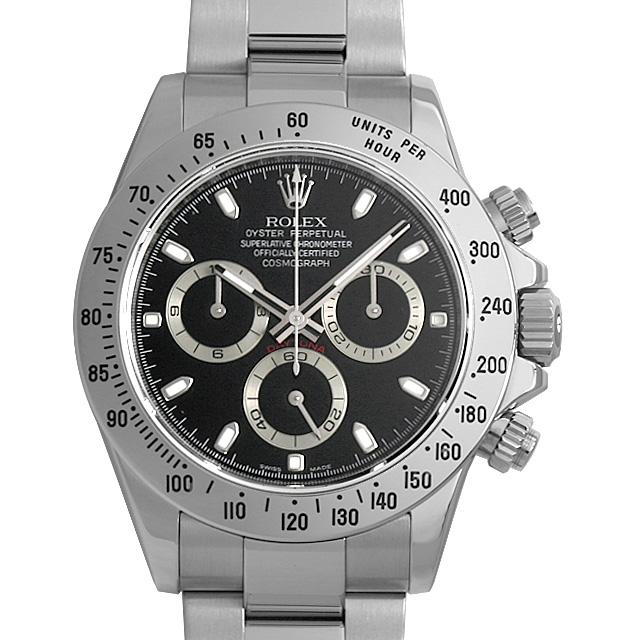 【48回払いまで無金利】ロレックス コスモグラフ デイトナ 116520 V番 ブラック メンズ(0O0ZROAU0001)【中古】【腕時計】【送料無料】