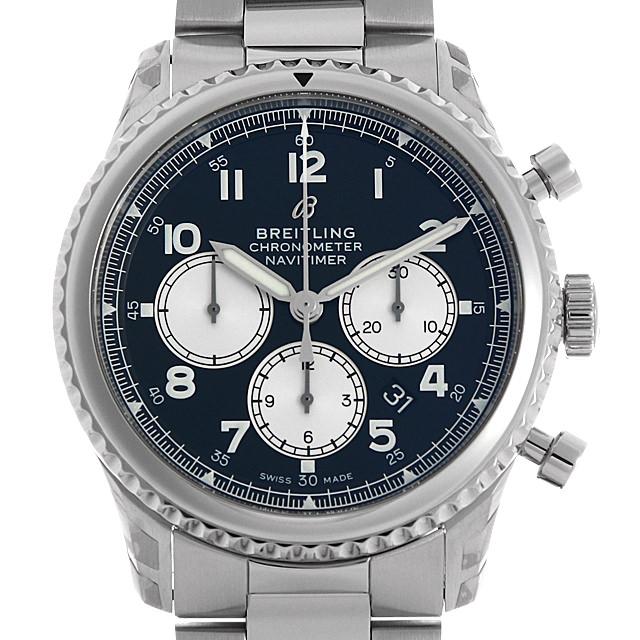【48回払いまで無金利】ブライトリング ナビタイマー8 B01 クロノグラフ43 A008B-1PSS メンズ(002GBRAR0006)【新品】【腕時計】【送料無料】