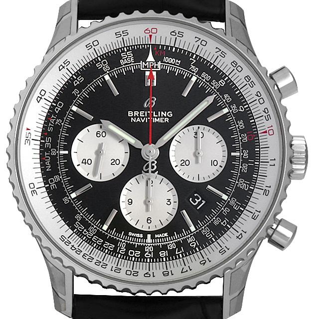 【48回払いまで無金利】ブライトリング ナビタイマー1 BO1 クロノグラフ46 A017B-1WBA メンズ(0671BRAN0057)【新品】【腕時計】【送料無料】