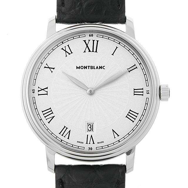 【48回払いまで無金利】モンブラン トラディション デイト 112633 メンズ(006TMLAN0036)【新品】【腕時計】【送料無料】