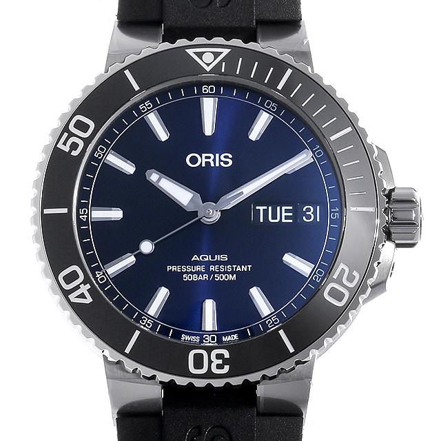 オリス アクイス ビッグデイデイト 752 7733 4135R メンズ(006TOSAN0109)【新品】【腕時計】【送料無料】