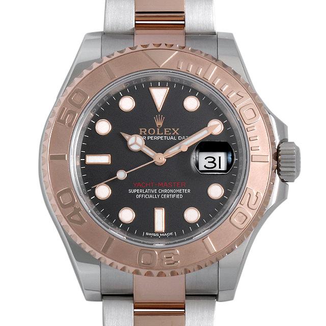 【48回払いまで無金利】ロレックス ヨットマスター40 116621 ブラック メンズ(0018ROAU0013)【中古】【腕時計】【送料無料】