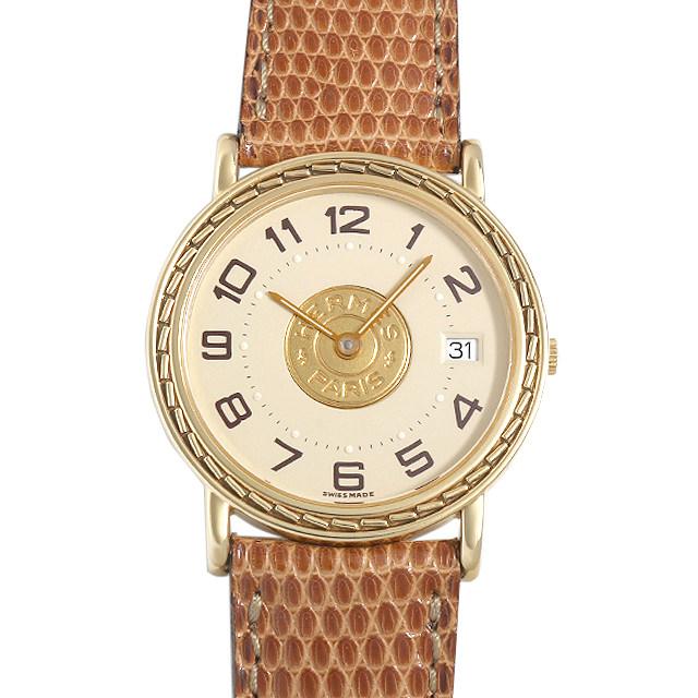 エルメス セリエ レディース(0063HEAU0007)【中古】【腕時計】【送料無料】