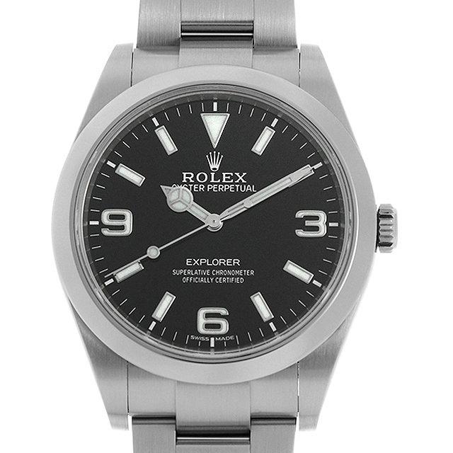 【48回払いまで無金利】ロレックス エクスプローラー 214270 最新型 メンズ(006XROAU1152)【中古】【腕時計】【送料無料】