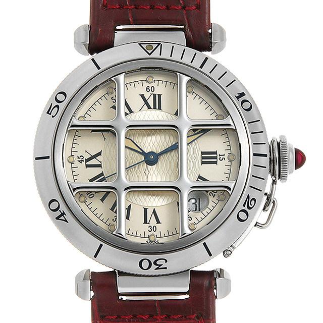 カルティエ パシャ 150周年記念モデル 限定1847本 W3102255 メンズ(007UCAAU0171)【中古】【腕時計】【送料無料】