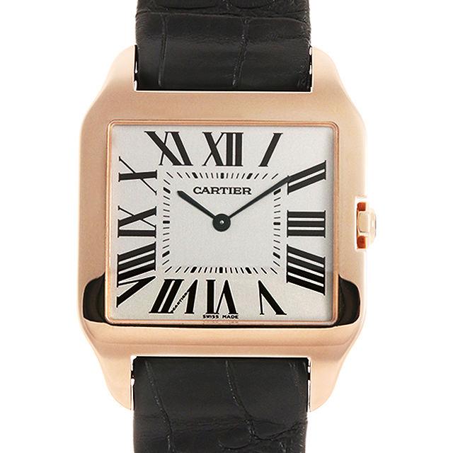 【48回払いまで無金利】カルティエ サントス デュモン LM W2006951 メンズ(007UCAAU0177)【中古】【腕時計】【送料無料】