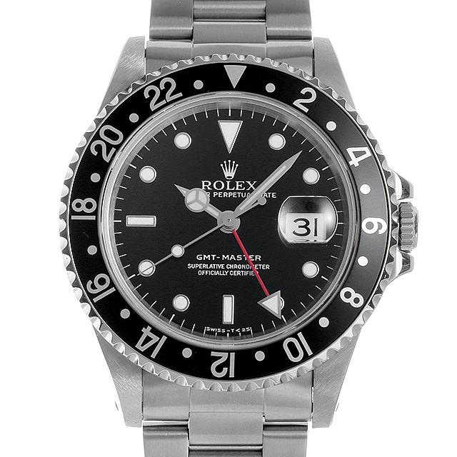 cdf726d1e3 ROLEX(ロレックス) GMTマスター 黒ベゼル 16700 ブラック/Black 中古 メンズ 【48