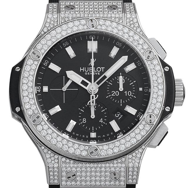 【48回払いまで無金利】ウブロ ビッグバンエボリューション スティール ダイヤモンド 301.SX.1170.RX.1704 メンズ(0087HBAU0018)【中古】【腕時計】【送料無料】