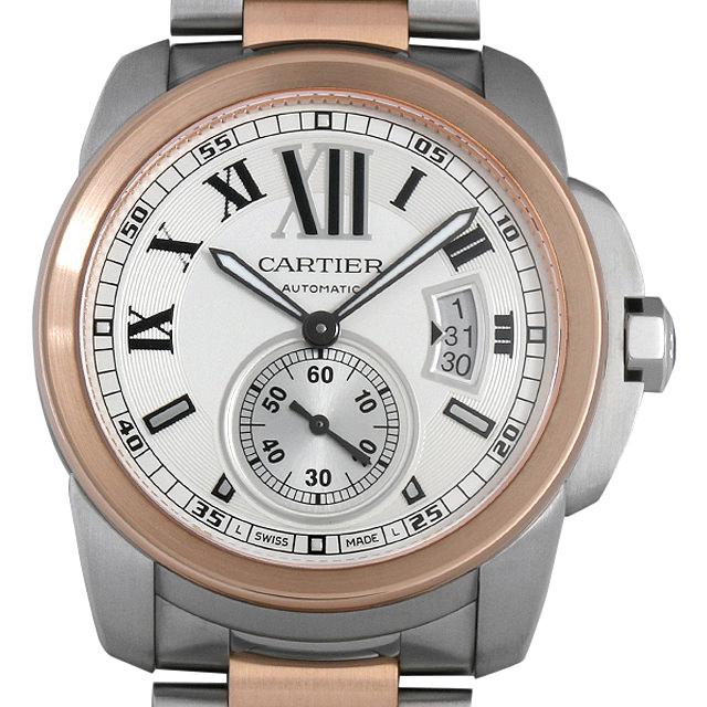 【48回払いまで無金利】カルティエ カリブル ドゥ カルティエ W7100036 メンズ(008KCAAU0061)【中古】【腕時計】【送料無料】