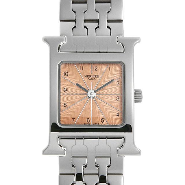 【48回払いまで無金利】エルメス Hウォッチ HH1.210 レディース(008KHEAU0007)【中古】【腕時計】【送料無料】