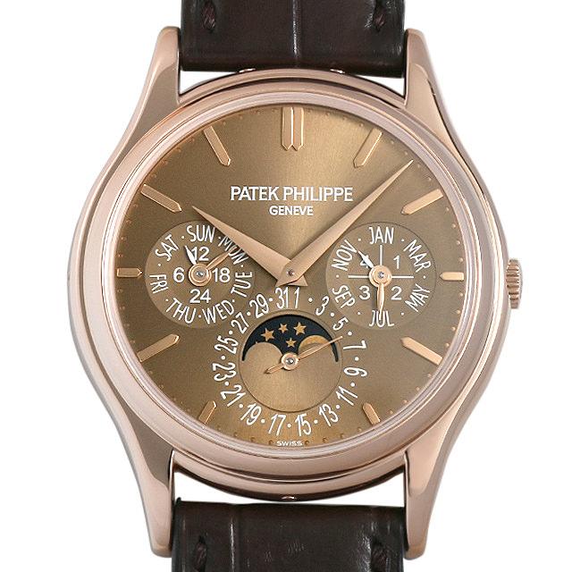 【48回払いまで無金利】パテックフィリップ パーペチュアルカレンダー Cal.24Q 5140R-001 メンズ(008WPPAU0088)【中古】【腕時計】【送料無料】