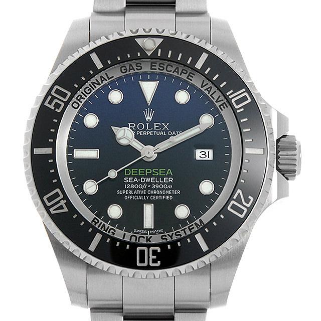 【48回払いまで無金利】ロレックス ディープシー D-BLUEダイアル 116660 ランダムシリアル メンズ(009MROAU0187)【中古】【腕時計】【送料無料】